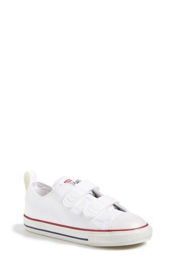 19ec4f0240f ... low price white leather velcro converse. our favorite toddler shoes  toddlerfashion toddlerlife converse e5ce7 1c893 ...