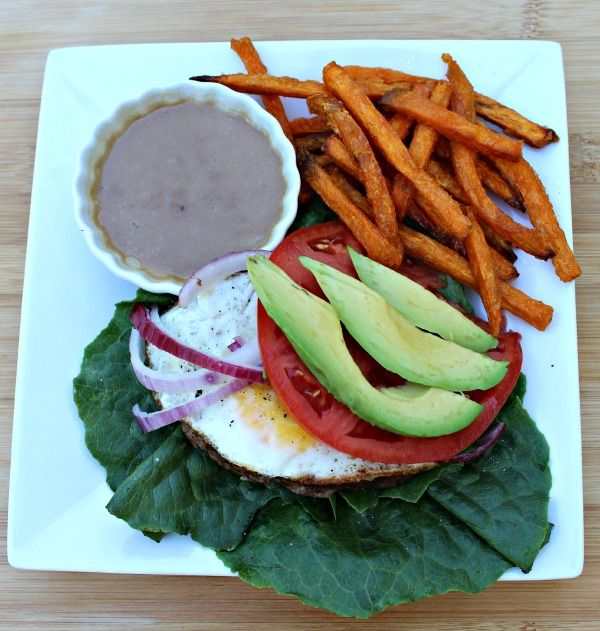 Quick Meal Series: Burgers with Egg and Garlic Butter Balsamic | Primally Inspired