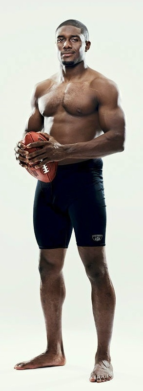 Reggie Bush, NFL running back for the Miami Dolphins.: