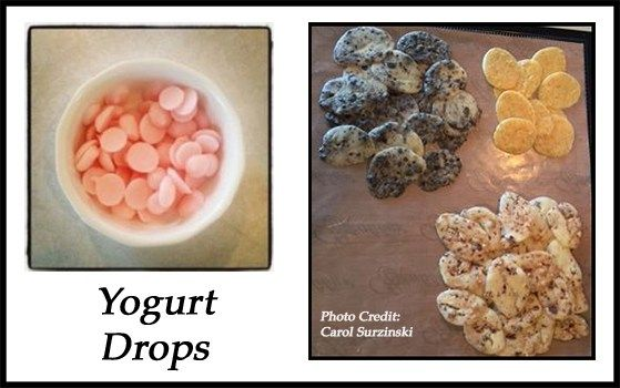 Yogurt drops are wonderful snacking treats for both young and old alike. Making your own with plain yogurt allows you to control the ingredients—especially the sugar content—of your snacks. I prefe…