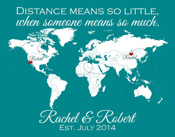 Long Distance Relationship Long Distance Friendship by SoleStudio