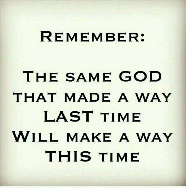 Good news: the same God who allowed me to be abused for two years will allow it again. Definitely trust God...