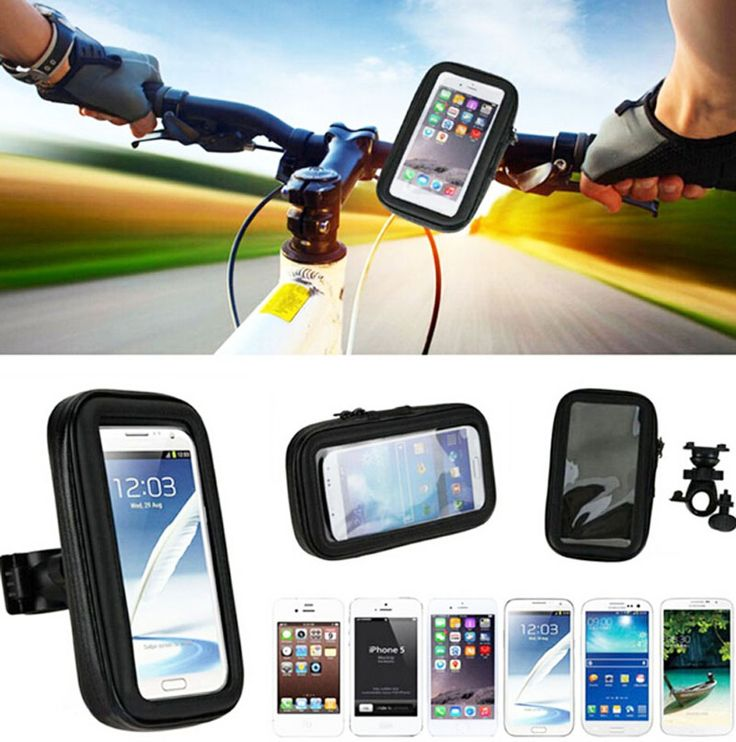 Touch Screen Waterproof Bicycle Bike Mobile Phone Cases Bags Holders Stands For BlackBerry Aurora,Oppo F3 Plus,For Nokia 5