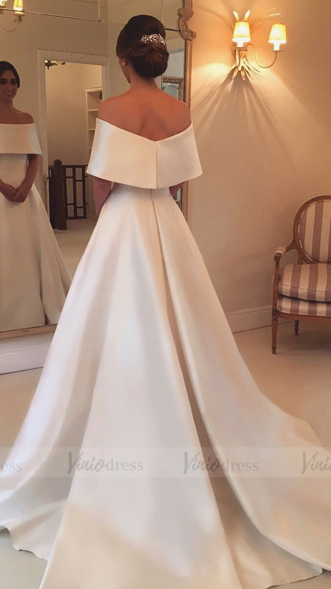 43++ Off the shoulder bridal gowns ideas information