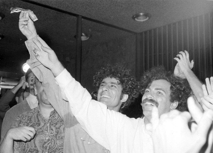 Fifty years ago today Yippie activist Abbie Hoffman made it rain at the NY stock exchange   - On August 24, 1967, guerilla theater activist Abbie Hoffman and his pals dropped a slew of dollar bills off the balcony of the New York Stock Exchange onto the trading floor below. As Hoffman later…