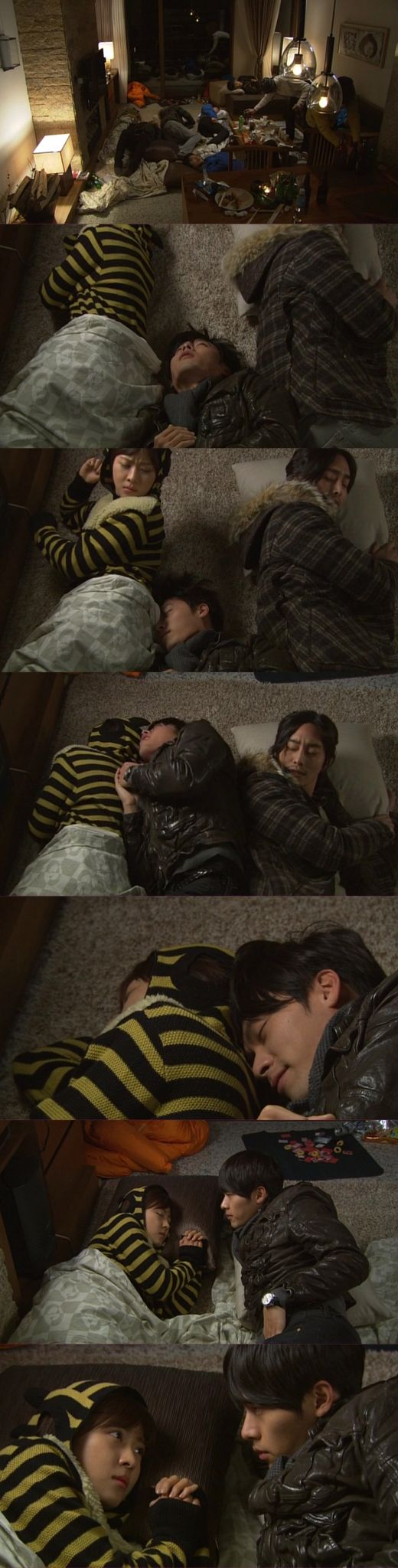Ha! Oh, so subtle Joo Woon! He just HAD to be in the middle of things! ~ Secret Garden -- Hyun Bin--Ha Ji Won--Lee Phillip #KDrama