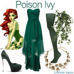 Poison Ivy Fancy Dress Costume Ideas ~ Costume Mama