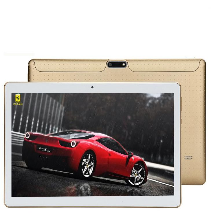 [Visit to Buy] New T805C Android 7.0 Smart tablet pcs android tablet pc 10.1 inch Octa core tablet computer Ram 4GB Rom 32GB White Gold Black #Advertisement