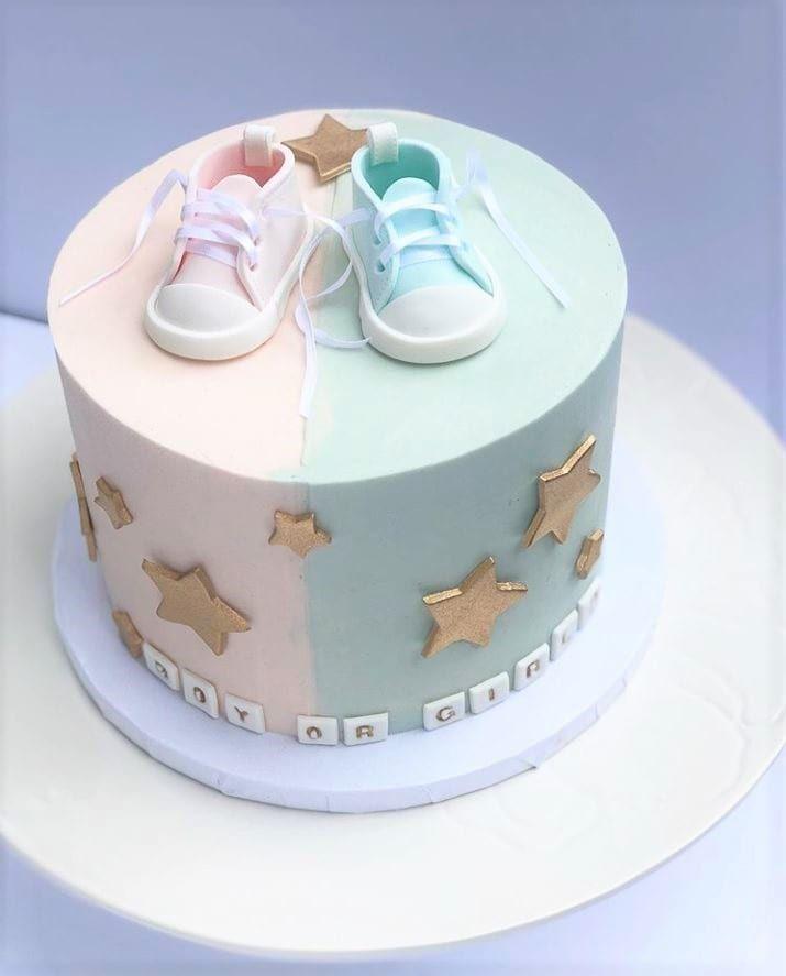 Gender Reveal Cake Ideas Amazing Cakes To Inspire Baby Shower Gender Reveal Cake Baby Reveal Cakes Gender Reveal Cake
