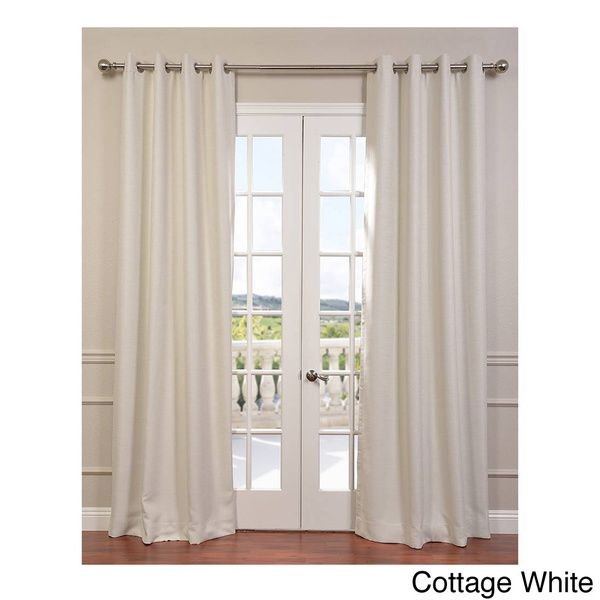 EFF Bellino Grommet Top 96-Inches Blackout Curtain Panel