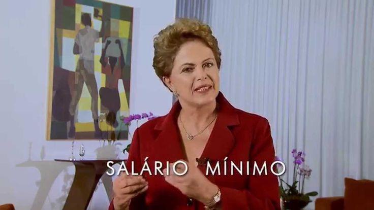 Salário Mínimo - Mensagem da presidenta Dilma pelo Dia do Trabalhador