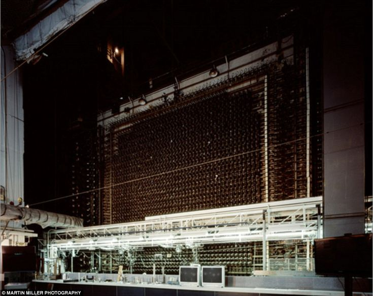 B Reactor Front Face, Source of Nagasaki Bomb Plutonium, Hanford Nuclear Reservation, WA 1944