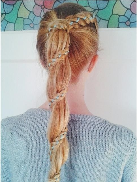Carousel Braid - I don't really know what this is but it's super pretty-