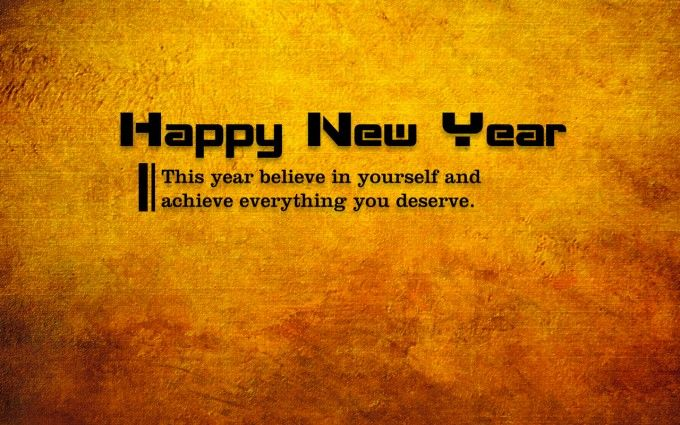 Happy New Year Card With Quote  #newyear #happynewyear #newyear2016 #happynewyear2016 #quote