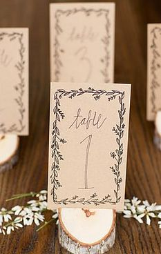 Style Your Soirée - Shop Table Numbers!