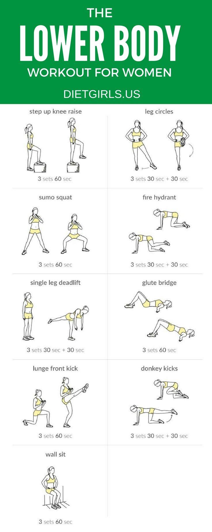 Lower Body Workout @ http://dietgirls.us
