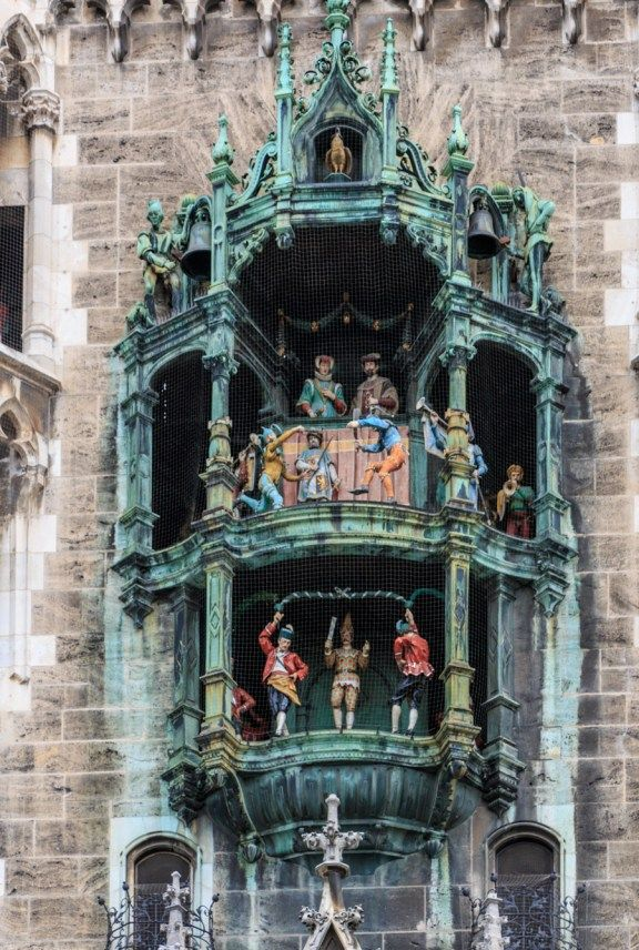 Glockenspiel Munich Germany Photography Munich Glockenspiel