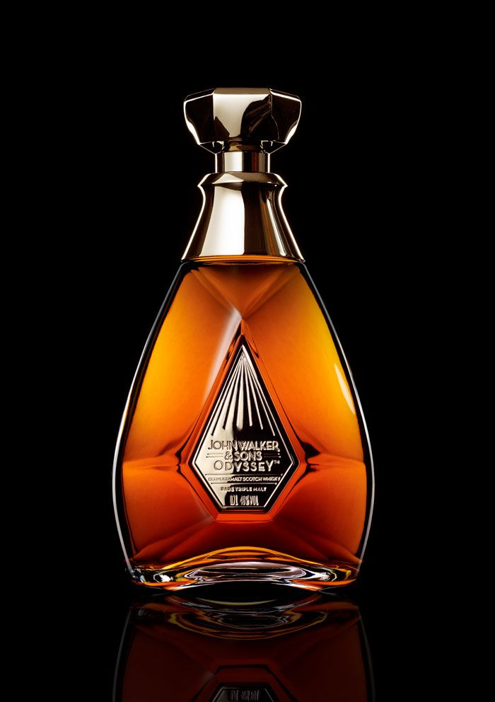 John Walker & Sons: Odyssey, a new ultra-premium whiskey. It is an innovative and intricate product aimed at further elevating the perception of the Johnnie Walker trademark.