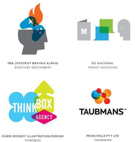 Тренды в дизайне логотипов 2012