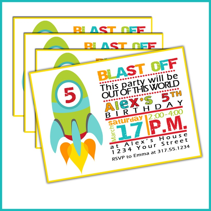 30 best Reference Images Rocket Ships images – Rocket Ship Birthday Invitations