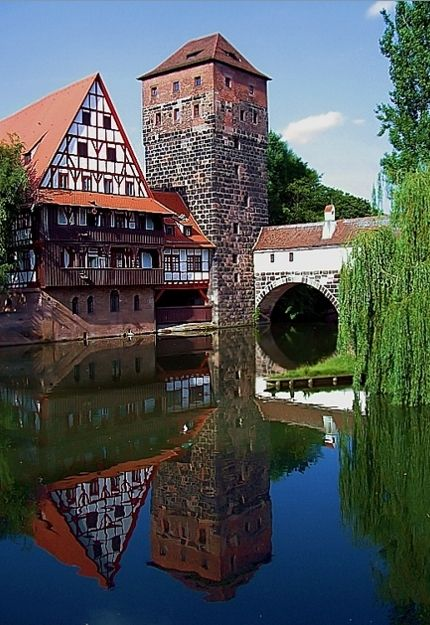 Nürnberg, Bavaria, Germany  (via Nuremberg #1, a photo from Bayern, West | TrekEarth)