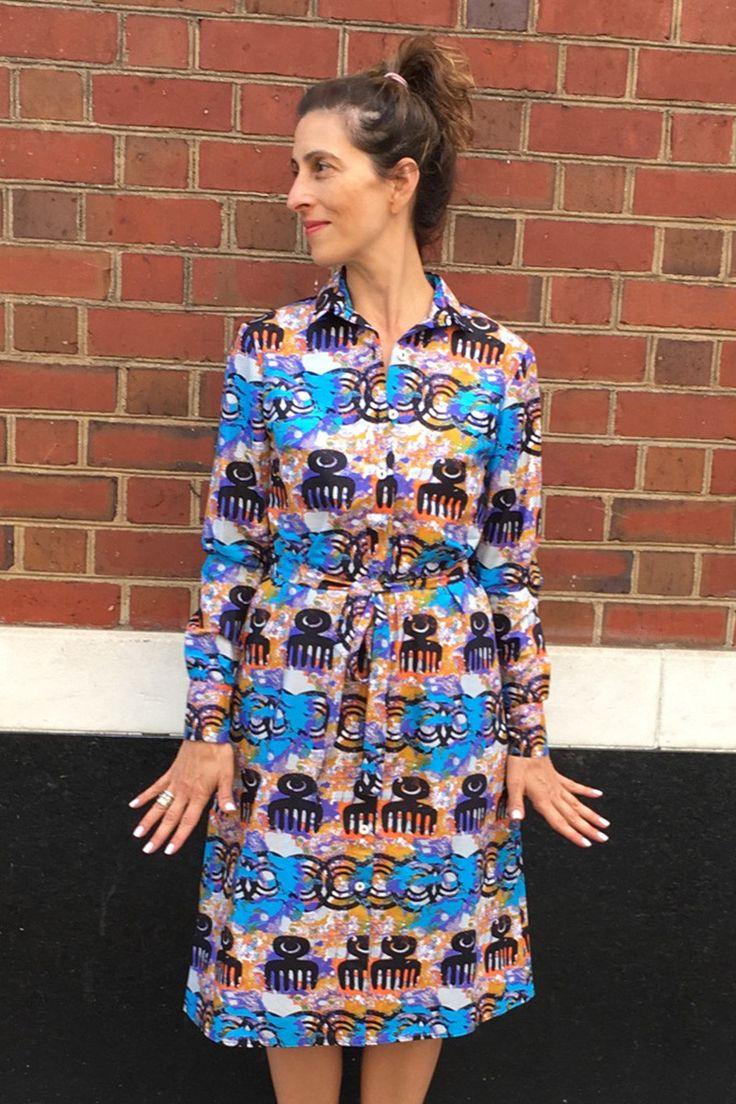 Marita Huurinainen Haapa Shirt Dress