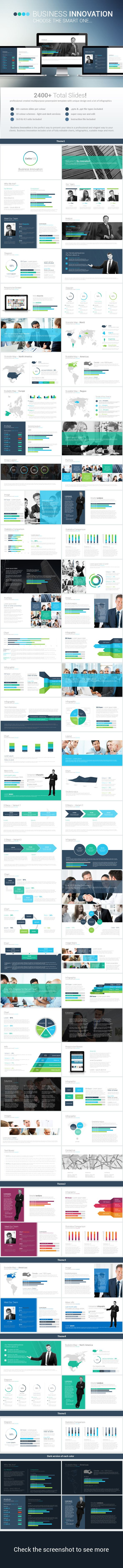Business Innovation Powerpoint Template - PowerPoint Templates Presentation Templates