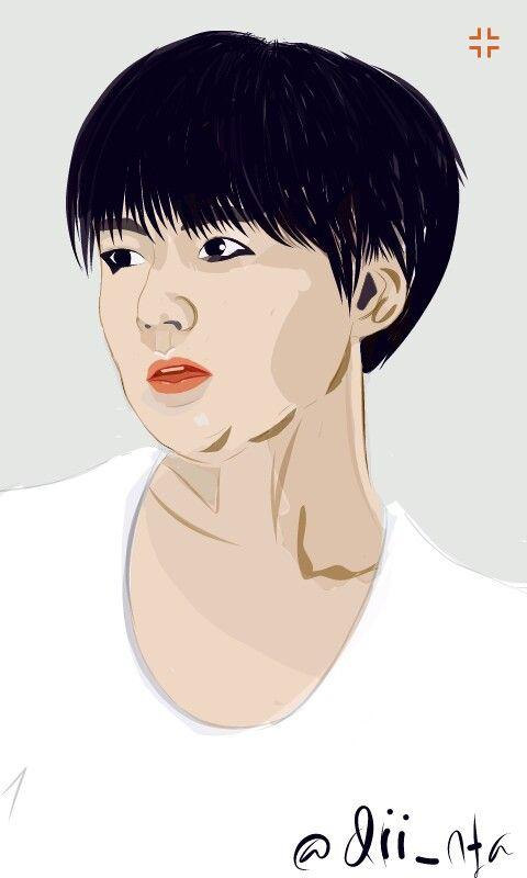 Fanart Min Yoongi BTS #fanart #BTS #Suga Fanart by: @dii_nta
