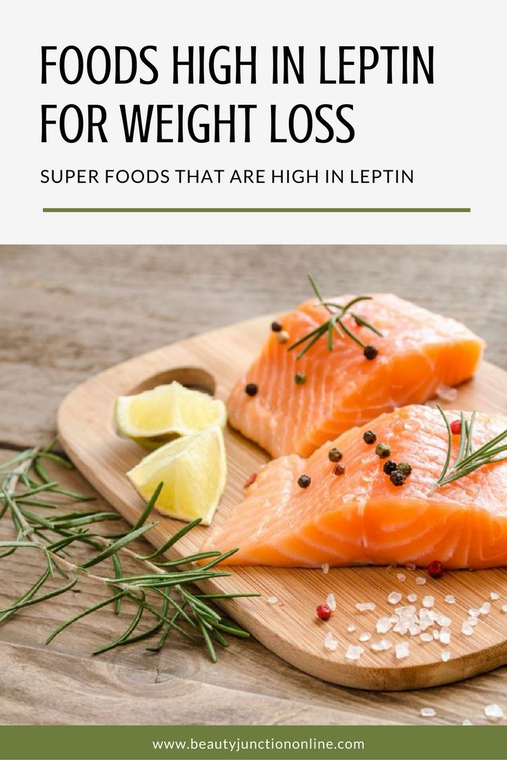 Discover the best foods high in leptin that work best for weight loss!