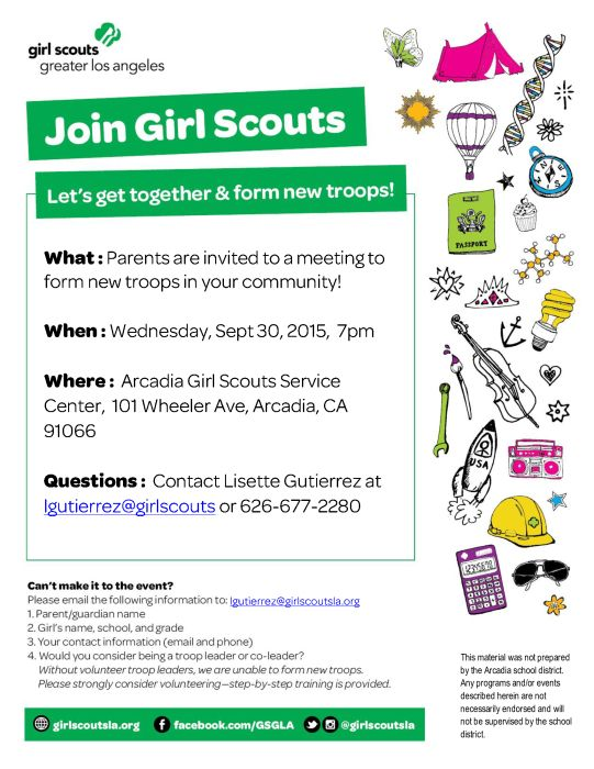 girl scout daisy parent meeting Girl scouts rock we are a multi-level girl scout troop (daisy, brownie, junior) with the focus to inspire each other to build courage, confidence, and character, to make a positive difference in the community and the world around us.