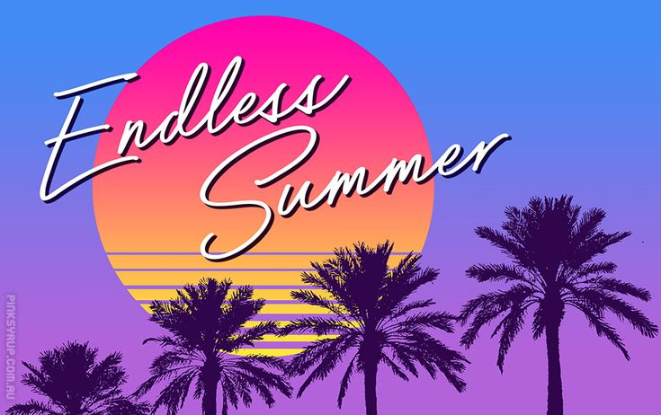 Endless Summer | Pink Syrup