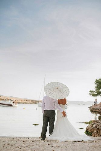 El Chiringuito de Cala Gracioneta, bohemian Ibiza beach wedding venue