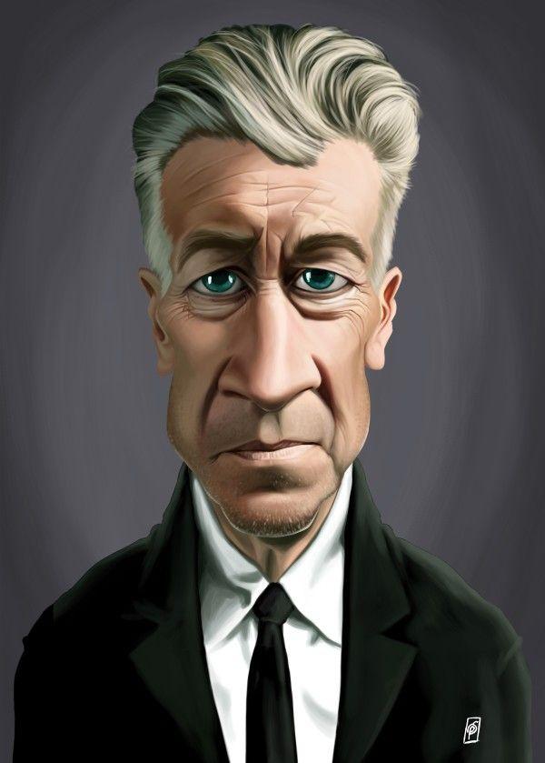 Celebrity Sunday - David Lynch  Prints art | decor | wall art | inspiration | caricatures | home decor | idea