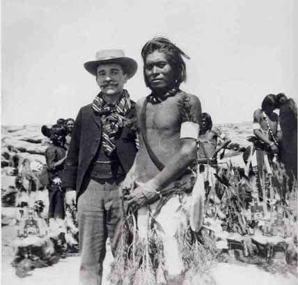 Aby Warburg e un indiano Pueblo