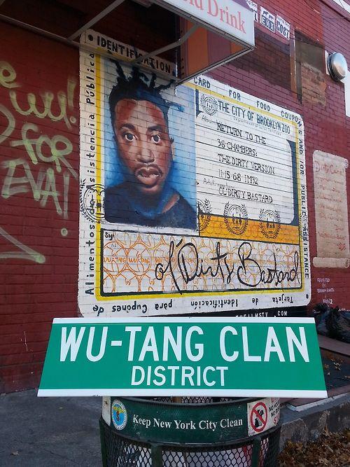 Wu-Tang Clan district, New York