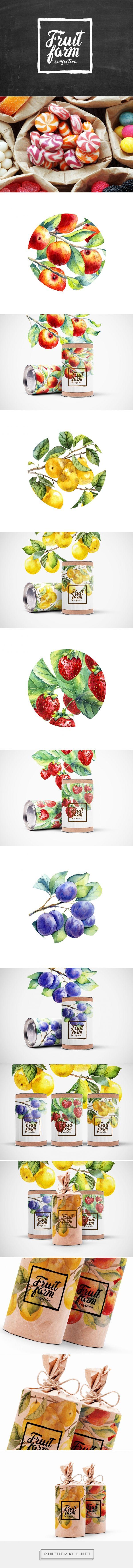 Fruit Farm Confection / candies by Rina Rusyaeva