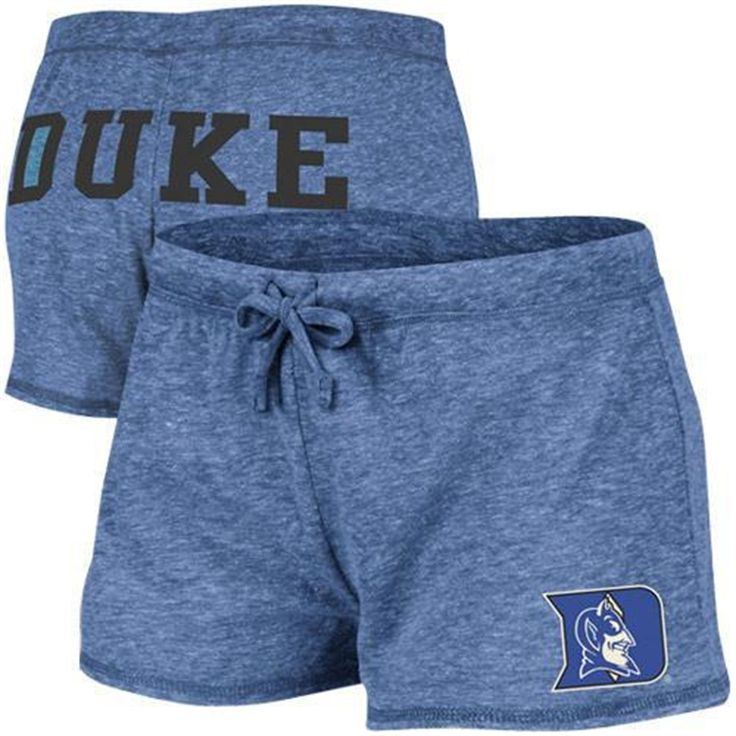 Duke Blue Devils Ladies Field House Tri-Blend Shorts - Duke Blue