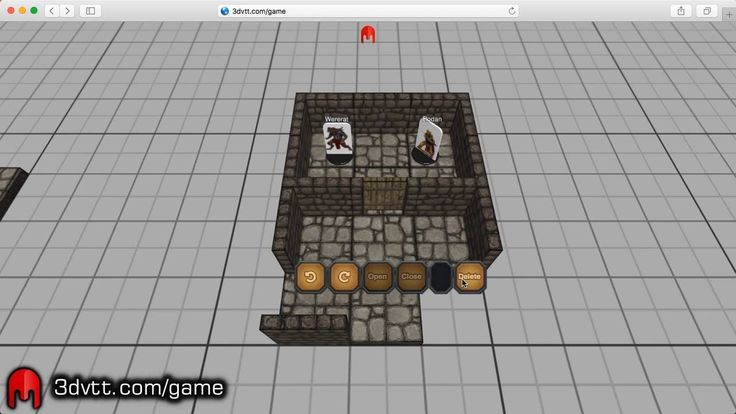 Working with 3D terrain made easy in 3D Virtual Tabletop.