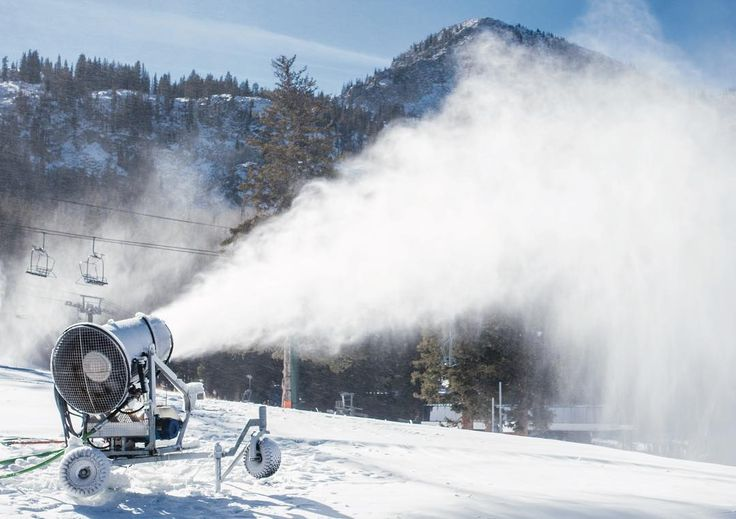 The snow making crew is on blast right now! All guns firing overtime to get things up and running as soon as possible. S...
