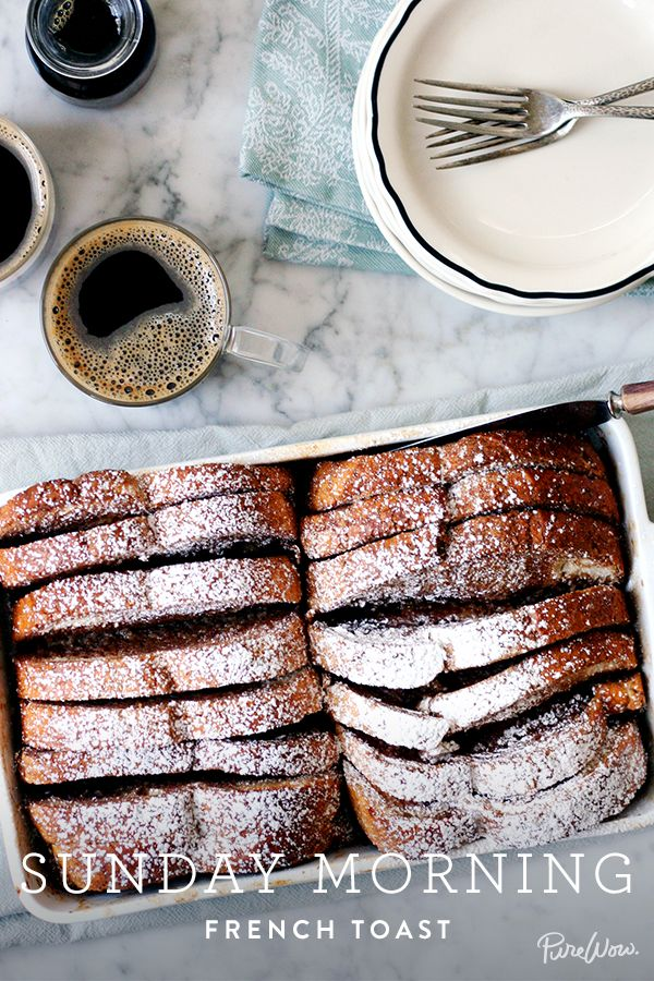 Sunday Morning French Toast via @PureWow