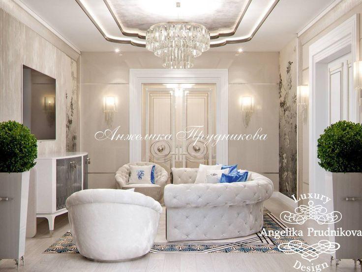 Дизайн дома в стиле арт-деко в усадьбе Морозовых - фото