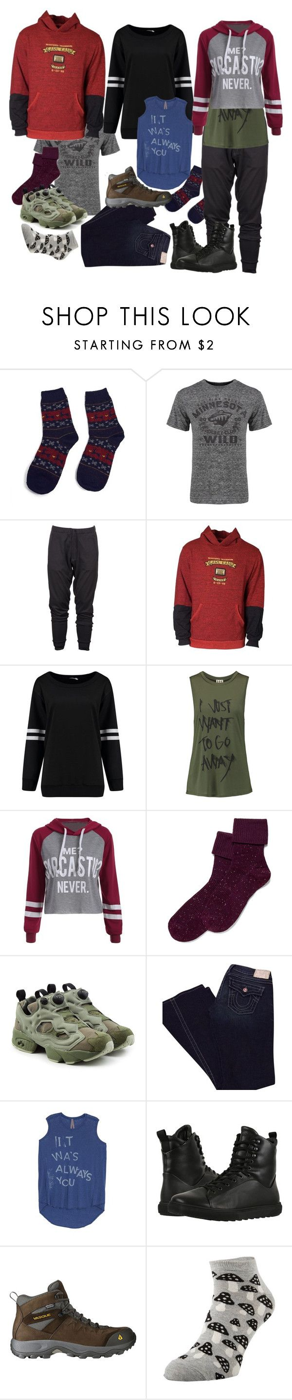 """Hockey wild always you"" by amanda-anda-panda ❤ liked on Polyvore featuring Old Time Hockey, Y-3, Haute Hippie, Hue, Reebok, True Religion, Melissa McCarthy Seven7, HOOD Rubber Company, Vasque and plus size clothing"