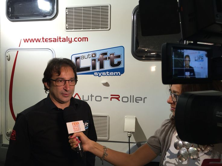 Backstage intervista a Riccardo Albergo - Tesa