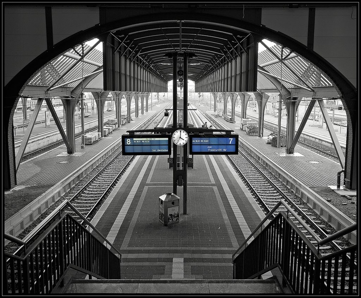 Beautiful black and white photos with color inspire information