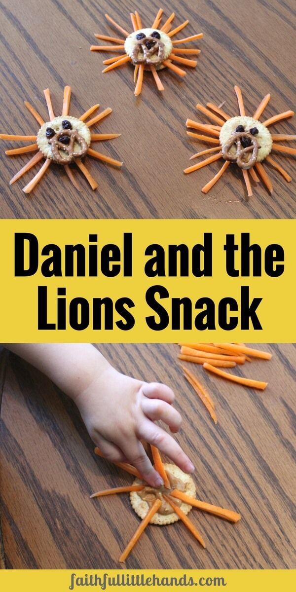 Daniel And Lions Den Snack