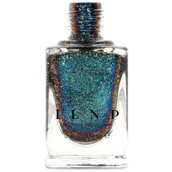 Cold Fusion (H) Blue Teal Purple Holographic Ultra Chrome Color... ($13) ❤ liked on Polyvore featuring beauty products, nail care, nail polish, nail, beauty supplies, craft supplies & tools, grey, nail art supplies, shiny nail polish and sticker nail polish