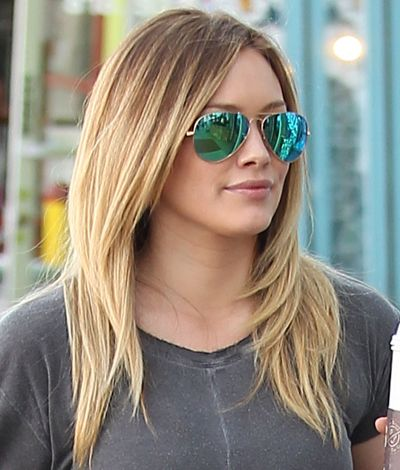 Hair Dos: 5 Signature Celeb Hairstyles To Steal Right Now - Hilary Duff's Sleek, Straight Locks