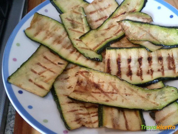 Zucchine alla griglia  #ricette #food #recipes