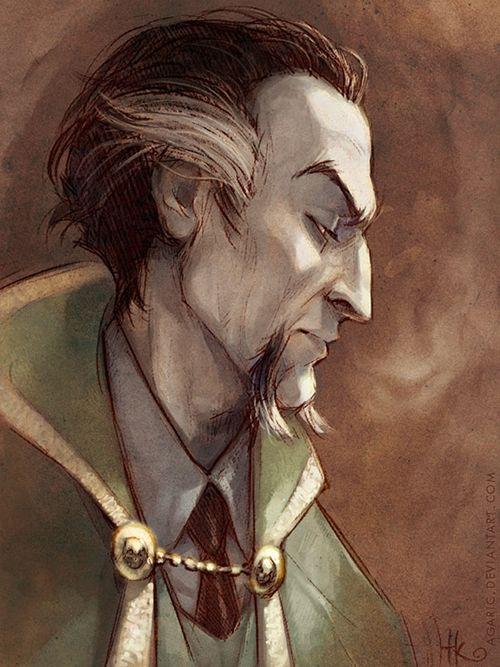 Ra's Al Ghul, by TK