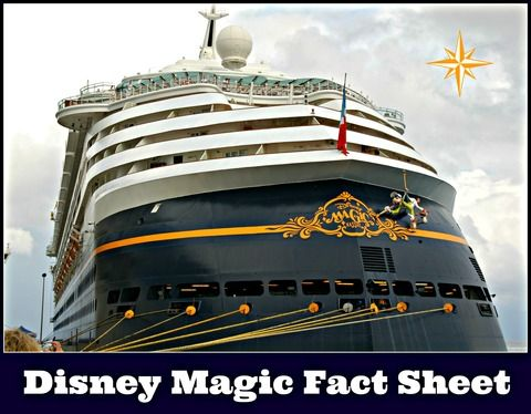Disney Magic Ship Facts - Disney Cruise Line. Everything you ever wanted to know about the Disney magic plus fun facts that you never knew!